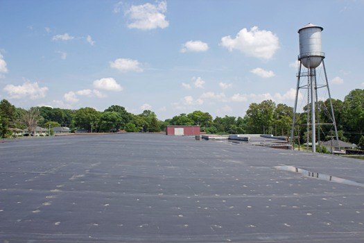 WHITE EPDM RUBBER ROOFING